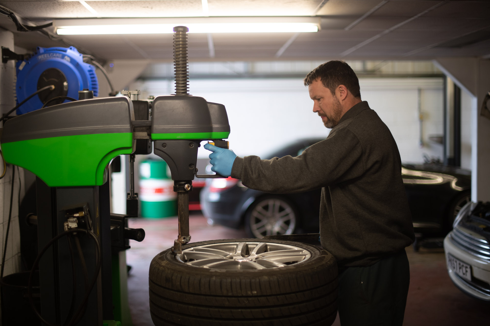Tyre fitting, repairs and replacement at Autotechnics Blandford