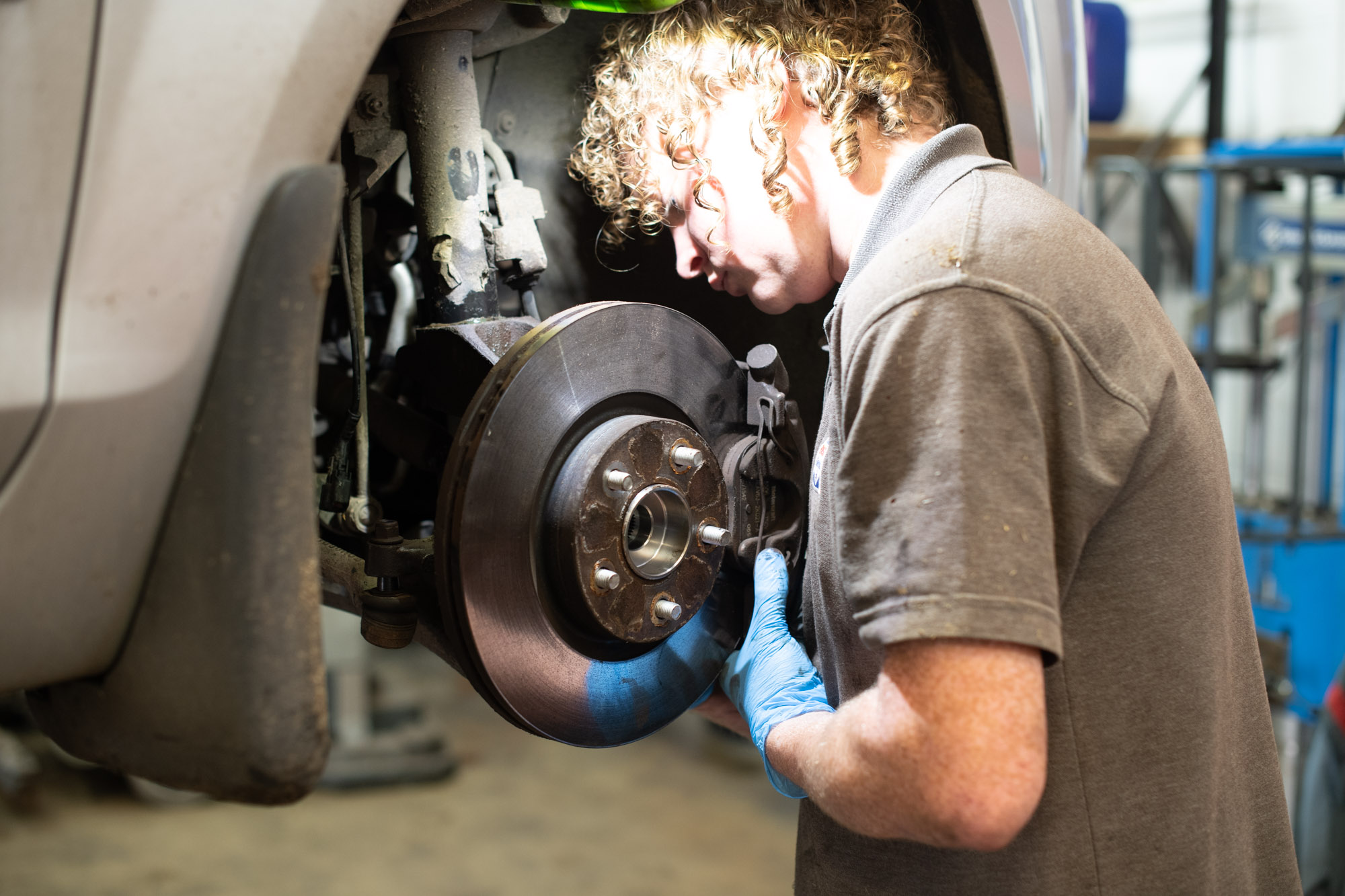 Brake repairs, replacements and servicing at Autotechnics Blandford
